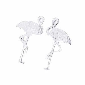 💕 flamingo stud earrings silver or gold